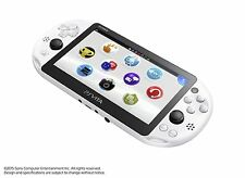 SONY PS Vita Wi-Fi PCH-2000ZA22 Console Glacier White Japanese Model Game NEW
