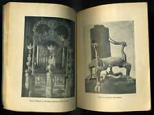 1924 Russian Woodworker Carves Art of Furniture Russia Antique Искусство мебели