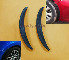 2PCS Universal Carbon Fiber Body Kits Fender Flares Wheel LIP Car Truck Part