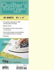 Quilter's Freezer Paper Sheets by C&T Publishing (2009, Merchandise, Other)
