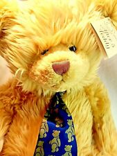 "Mulberry Bush Collection RBI After 5 Teddy Bear BIG 23"" Plush Blonde Tan + Shoes"