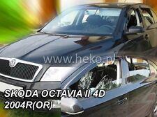 SKODA OCTAVIA II 4/5D 04-13 OT)HB/SEDAN Deflectores de viento 4pzas HEKO 28317