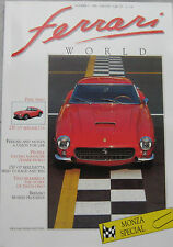 Ferrari World magazine Issue 3, October/November 1989 250 GT Berlinetta
