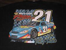RICKY RUDD #21 RAC RENT A CENTER NASCAR RACING T-SHIRT ADULT XL extra large NICE
