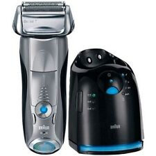NEW BRAUN Pulsonic 790CC-4 Mens Rechargeable/Washable Shaver Series 7  790-4 CC