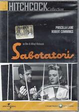 Dvd video **SABOTATORI** di Alfred Hitchcock nuovo sigillato 1949
