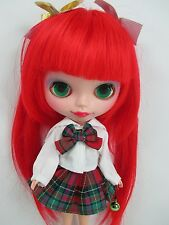 OOAK:Big Head Basaak Blybe Blythe clone CCE Doll Completed Custom modify face 33