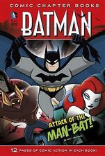 Attack of the Man-Bat! (Batman: Comic Chapter Books)  (ExLib)
