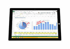 Microsoft Surface Pro 3 64GB Silver Intel i3 Tablet 4YM-00001 Win 10 Upgrade