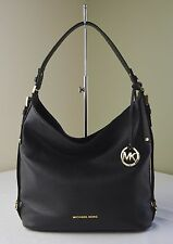 Michael Kors Black Bedford Belted Large Shoulder Bag