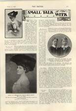 1906 Mrs J Lee Tailer Lady Ashburton Scrubber Sir William Hyde Parker