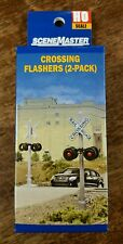 HO Walthers 949-4333 Crossing Flashers -- Set of 2 Working Signals