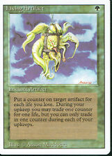 MAGIC THE GATHERING REVISED GREEN RARE LIVING ARTIFACT