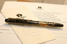 Namiki Maki-e Tradition Toy Haigota Fountain pen Nippon Art Collection