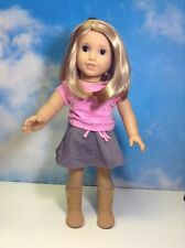 American Girl Doll Just Like You Blonde Brown Eyes (325)