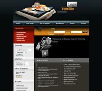 Professional COOKING & RECIPES Website Business. Online Earnings Google Adsense