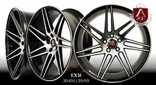 "AXE EX31 WHEELS RIMS 20"" STAGGERED SETUP MUSTANG, G35, 350Z, ACCORD,GENESIS"