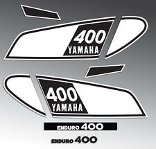 YAMAHA 1975 DT400 DECAL GRAPHIC KIT LIKE NOS