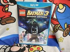Nintendo Wii U Lego Batman 3 Beyond Gotham Game BRAND NEW SEALED