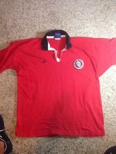 CANTERBURY RED POLO RUGBY SAN DIEGO STATE SDSU AZTECS SHIRT see dimensions KED