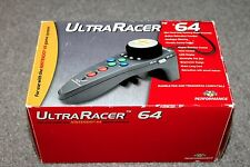 Nintendo 64-ULTRA RACER 64-n64 in scatola RACING CONTROLLER-n64-in buonissima condizione