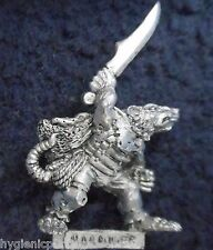 1993 Skaven Gutter Runner with Dagger 3 Chaos Ratmen 74455/89 Citadel Night Army