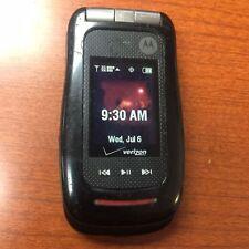 Motorola V860 Barrage Verizon MIL-SPEC Rugged 2MP Camera Flip Cell Phone Black