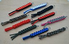 Paracord 550 Lanyard Keyring for Multi Tool, Knife etc,. (Choose Your Colour) T