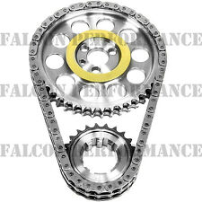 ROLLMASTER Double Roller BILLET Timing IWIS Chain Set Ford 351C-351M-400 9-key