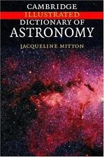 Cambridge Illustrated Dictionary of Astronomy-ExLibrary