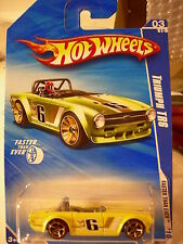 Hot Wheels Triumph TR6 Faster than Ever Yellow