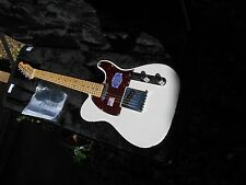 Fender Telecaster American Deluxe  minty  milky White over Ash WOHSC
