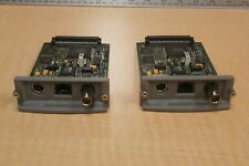 HP JET DIRECT J3111-60002 PRINT SERVER CARD ( 1 LOT OF 2 )