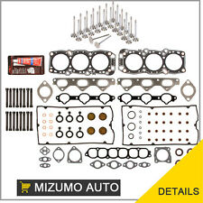 Dodge Stealth 3000GT 6G72 Head Gasket Set Bolts Intake Exhaust Valves Silicone