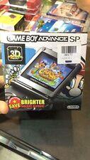 Nintendo Game Boy Advance SP Onyx Black Handheld System