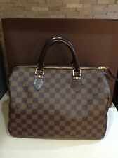 Authentic Louis Vuitton Speedy 30 Damier Ebene Box/Receipt/Dustbag  Preowned