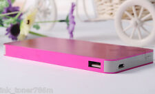 Ultrathin 50000mAh External Power Bank Backup Battery Charger for iPhone/Samsung
