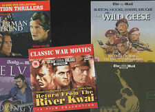 RETURN FROM RIVER KWAI/JAZZ SINGER/WILD GEESE/LOVING YOU/OSTERMAN WEKND 5 promos