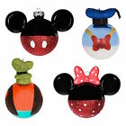 disney parks christmas ornament set mickey minnie goofy donald new with box