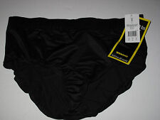 NWT Miraclesuit 24W Black Swimsuit Tankini Brief Bottoms Tummy Control Wide Band