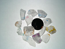 Assorted Surf Tumbled Sea Glass Lot 3014