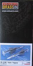 Eduard Brassin 1/48 EDB648088 Resin R-23R AA-7 'Apex' air to air Missiles