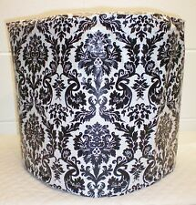 Black White Vinyl Damask Cover for B70 K70 K75 K79 Platinum Keurig Coffee Maker