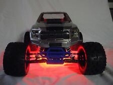 Traxxas Stampede Version 2, 24 Red LED light  (VXL / XL-5 / etc) Underglow Kit