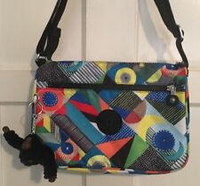 Kipling Multicolored Printed Crossbody Handbag Purse