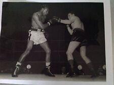 BOXE : RAY SUGAR ROBINSON - KID MARCEL -Photo de presse Originale Format 24x18cm