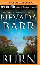 Anna Pigeon: Burn 16 by Nevada Barr (2014, MP3 CD, Unabridged)
