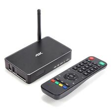 Android 4K smart OTT tv box 1GB RAM HDMI IN/OUT Wi-Fi Bluetooth remote miracast