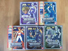 5 BRONZE MINEURS LOSER LOT SAINT SEIYA  MYTH CLOTH Neufs Japon Lionet bear wolf