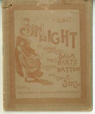 1889 Advertising Booklet from Sunlight Soap British